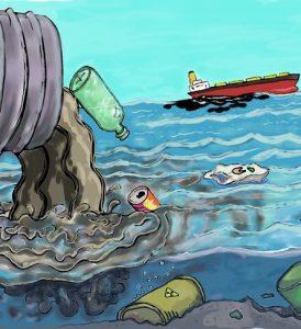la contaminación del agua 274x300 - ¿Cómo puede la realidad virtual ayudar a proteger el medio ambiente?