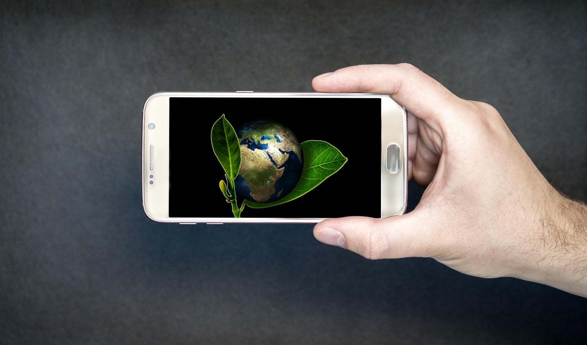 teléfono inteligente - Tecnología ambiental: ¿de qué manera puede ayudarnos a salvar la Tierra?